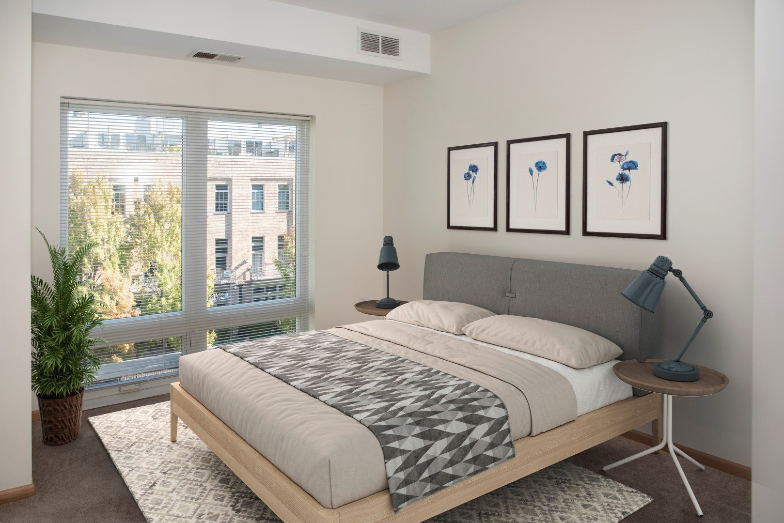 Third North one bedroom apartments