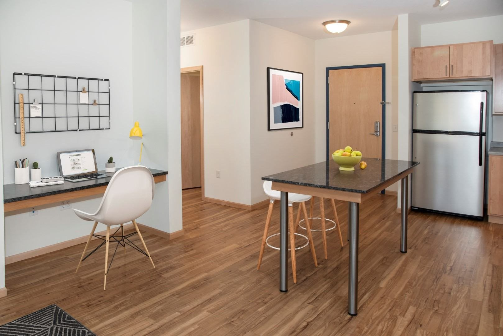 Third North apartments with built-in work from home space