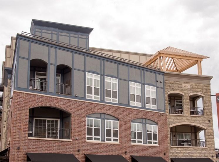 Imposing Victoria Flats Apartments