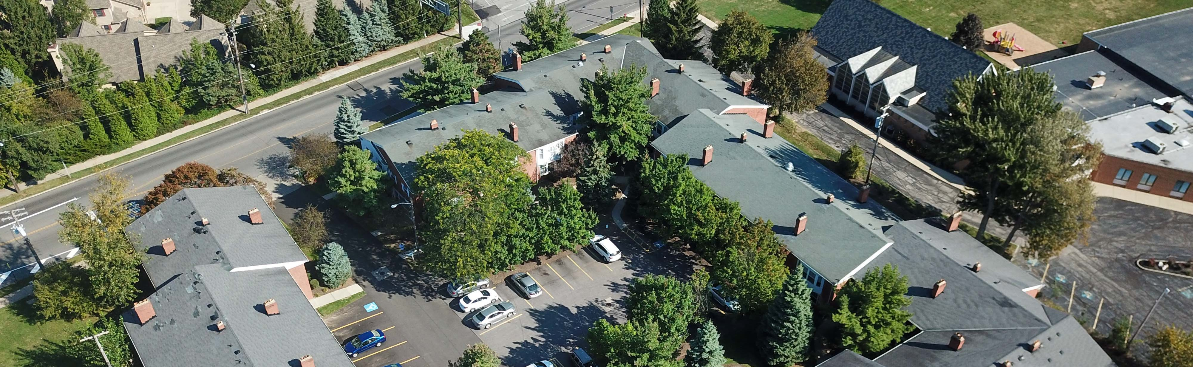 Oxford Court Aerial Photo