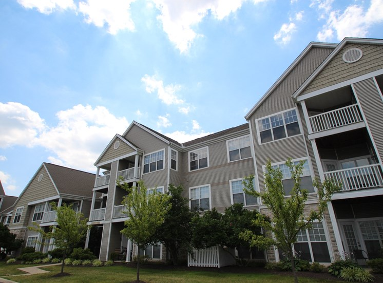 This is a picture of a apartment patios and balconies at Nantucket Apartments, in Loveland, OH.