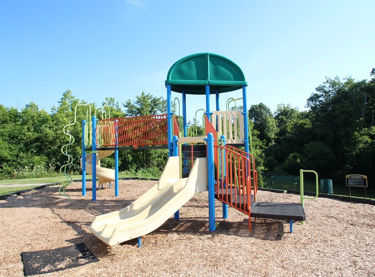 This is a photo of the playground court at Trails of Saddlebrook Apartments in Florence, KY.