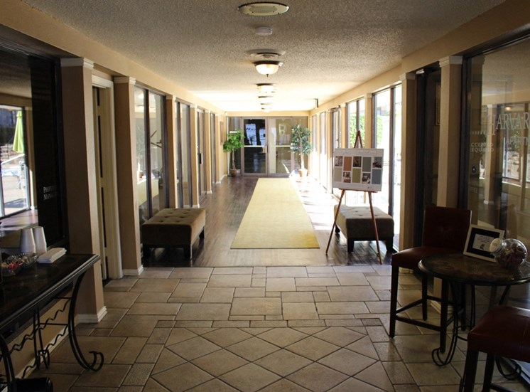 This is a photo of the leasing office at Princeton Court Apartments in Dallas, TX.