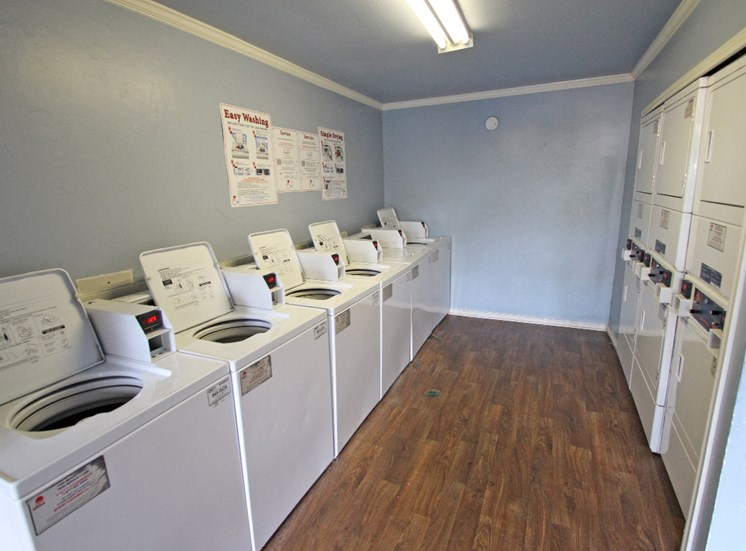 This is a photo of the clothes care center at Princeton Court Apartments in Dallas, TX.