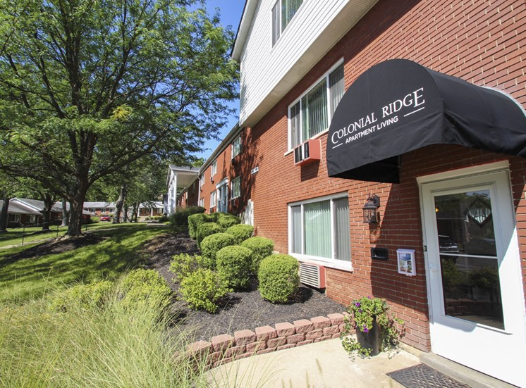 This is a photo of the leasing office at Colonial Ridge Apartments in Cincinnati, OH.