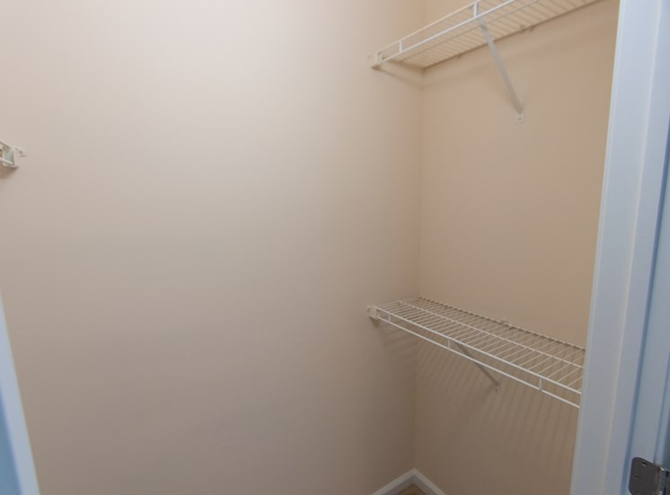 This is a photo of the 2nd bedroom in the 1 bedroom Catamaran floor plan at Nantucket Apartments in Loveland, OH.