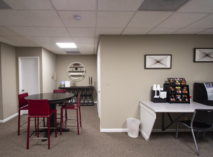 This is a photo of the cyber cafe at Park Lane Apartments in Cincinnati, OH.