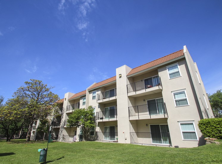 This is a photo of a building exterior at Princeton Court Apartments in Dallas, TX