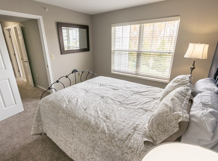 This is a photo of the third bedroom in the 1226 square foot 3 bedroom Hambletonian at Trails of Saddlebrook Apartments in Florence, KY.
