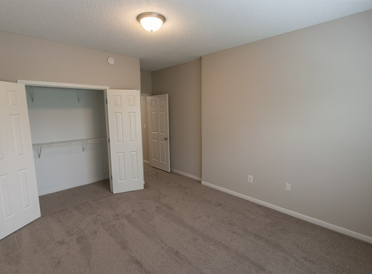 This is a photo of the third bedroom in the 1515 square foot 3 bedroom Zen floor plan at The Sanctuary at Fishers Apartments in Fishers, IN.