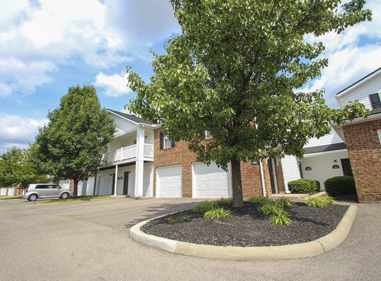 This is a photo of building exteriors at Washington Place in Washington Township, OH.