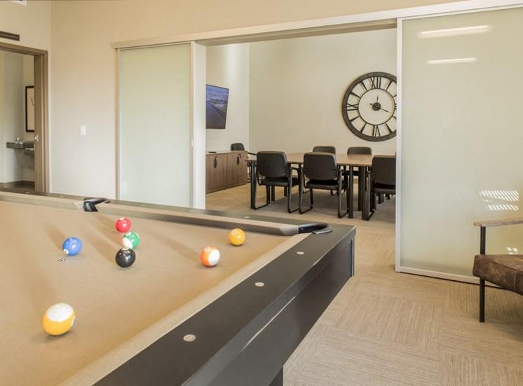 Billiard Table, Conference Room