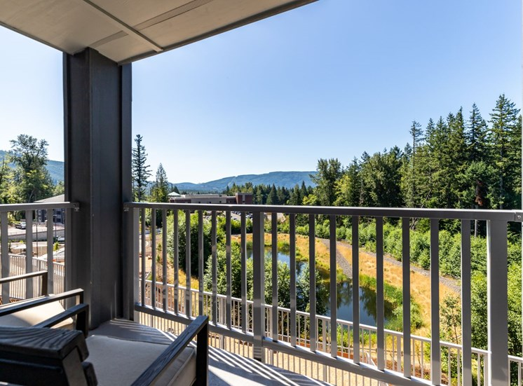 Private Balcony or Patio at Panorama, Snoqualmie
