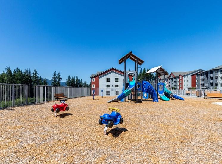Playground at Panorama, Snoqualmie