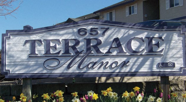 Terrace Manor Sign