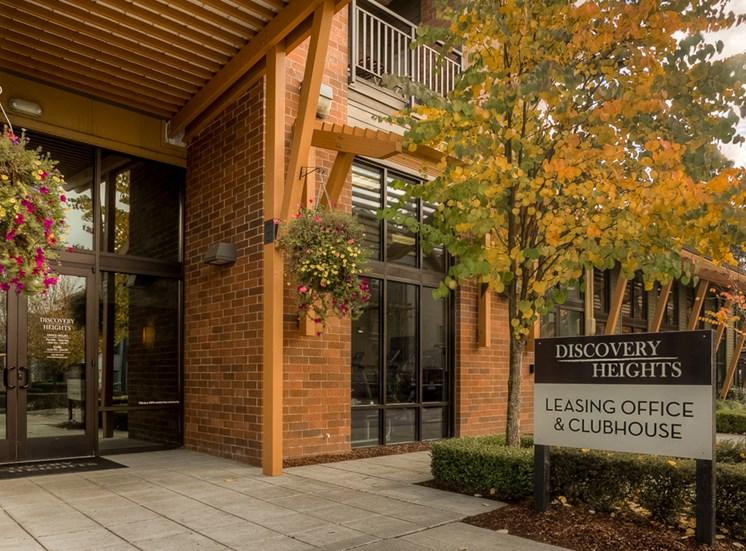 Recreation Center Entry