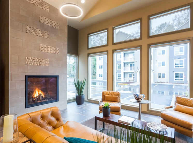 Recreation Center with Fire Place