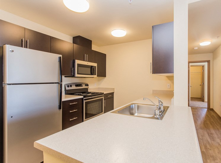 Fully Equipped Kitchen with Microwave, Dishwasher & USB outlet