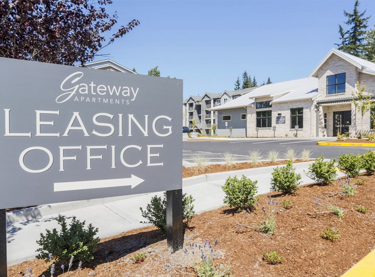 Gateway Leasing Sign