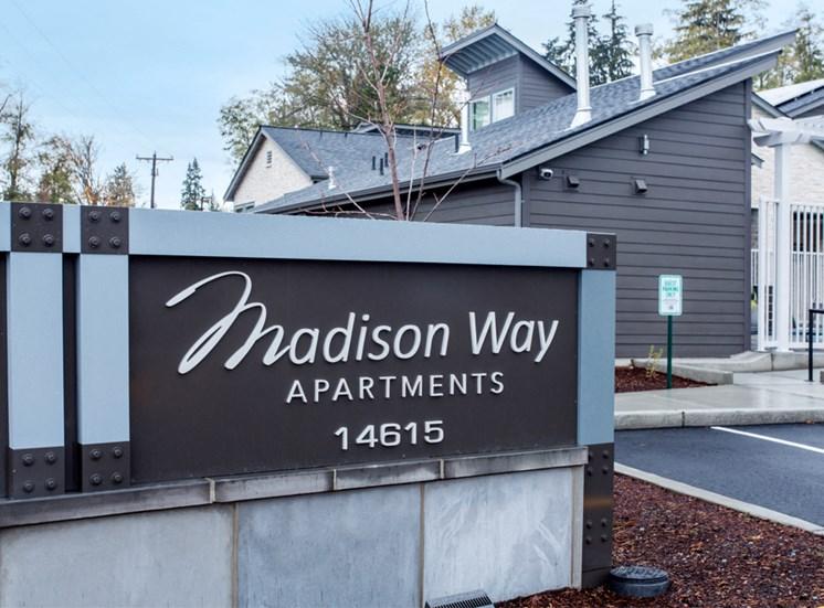 Madison Way Sign
