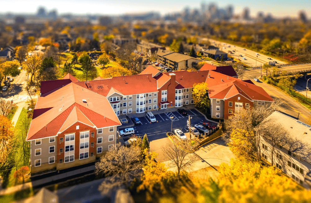 Marcy Park  Apartments aerial
