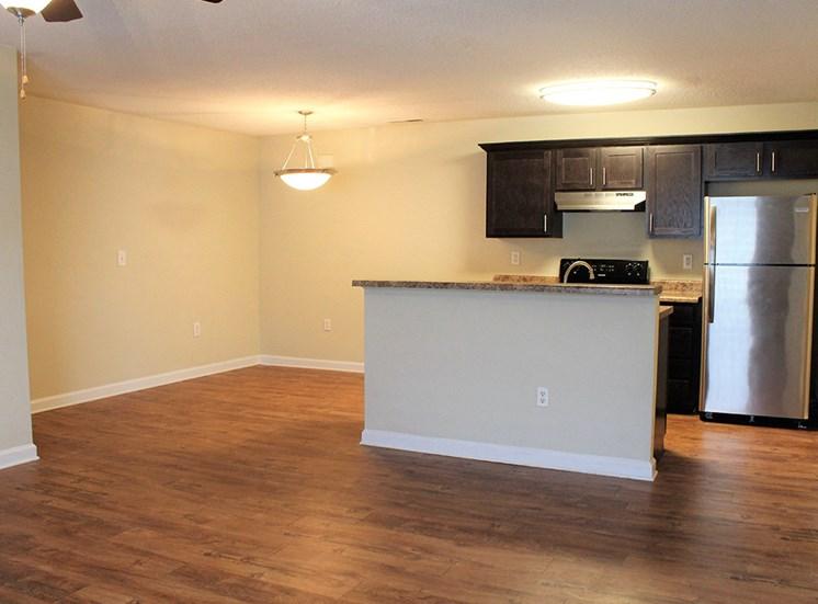 Kitchen 3 at Flintlake Apartments in Myrtle Beach SC