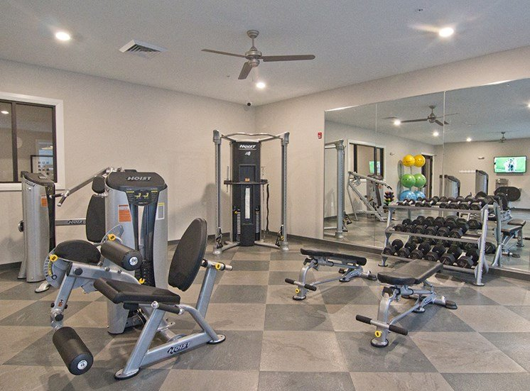 The Baxter Apartments Fitness Center in Louisville KY