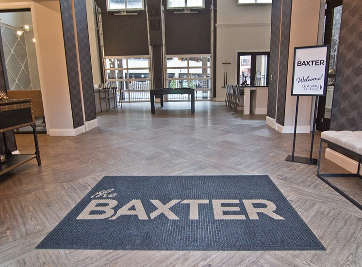 The Baxter Apartments Entryway in Louisville KY