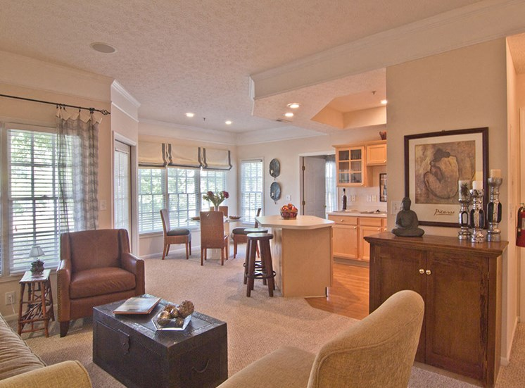 Interior at Orchard Apartments in Dublin OH