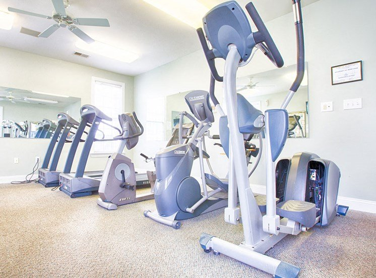 Fitness Center at Crosstimbers Apartments