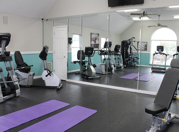 Fitness Center at Flint Lake Apartments in Myrtle Beach SC