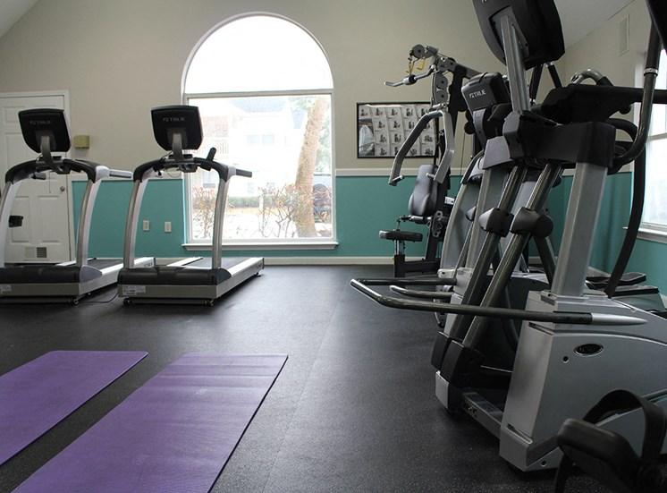 Flintlake Apartments Fitness Center equipment