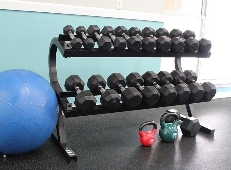 Fitness Center 2 at Flint Lake Apartments in Myrtle Beach SC