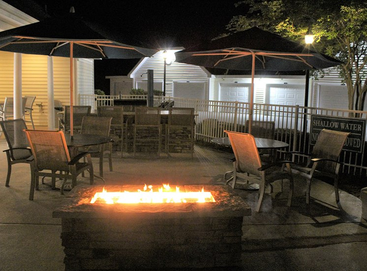Fire Pit at Flint Lake Apartments in Myrtle Beach SC