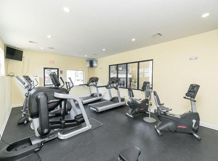 Gym at Forest Place in Little Rock AR