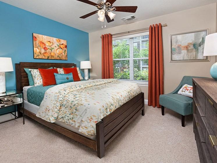 Bedroom at Smiths Landing Apartments in Blacksburg VA