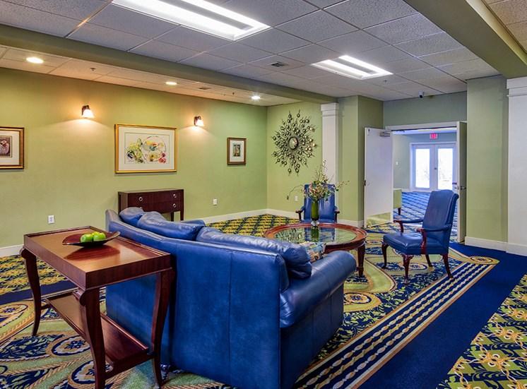 Lobby at The Atlantic at Brook Run Apartments