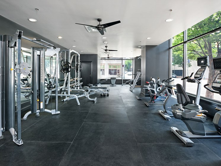 Fitness center for Stumpf Flats residents