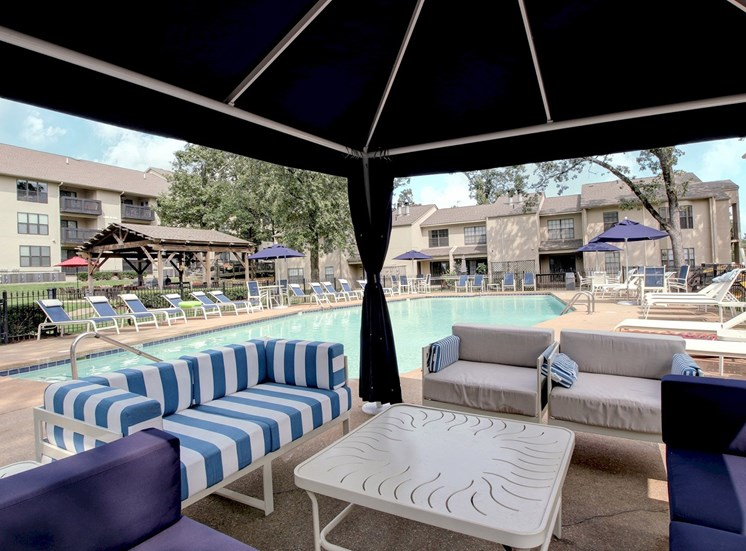 Poolside at Forest Place