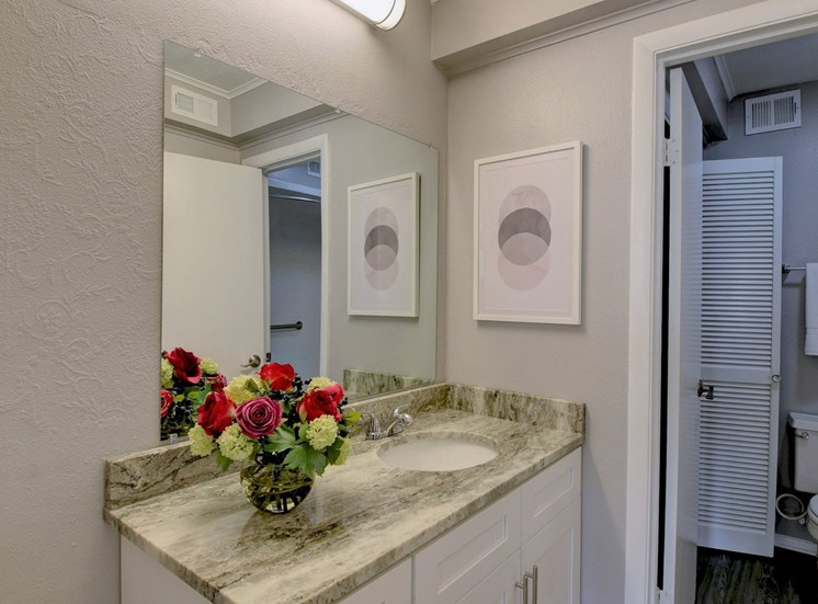 Bathroom at Forest Place