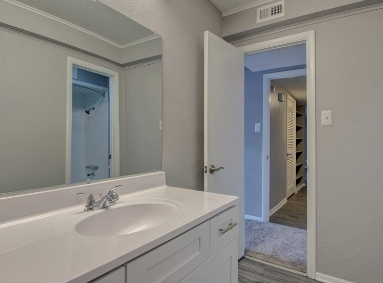 Bathroom at Forest Place in Little Rock AR