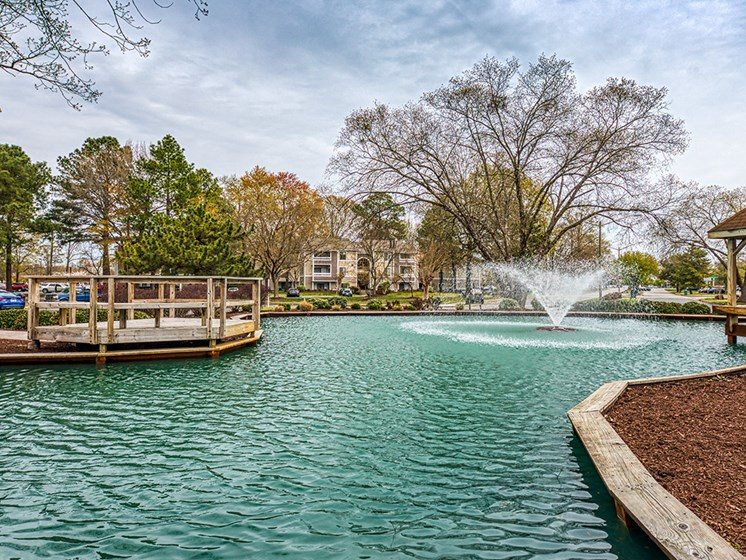 Pond at Compass at City Center Apartments