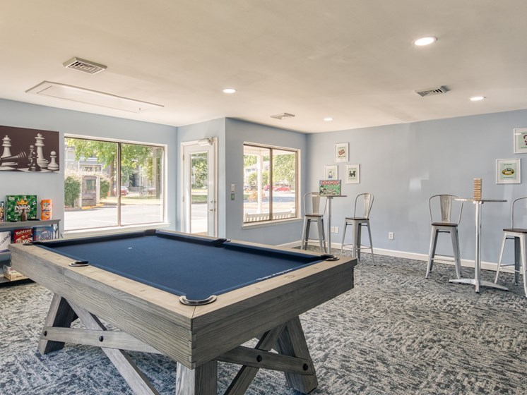 Compass Apartments in Newport News Game Room