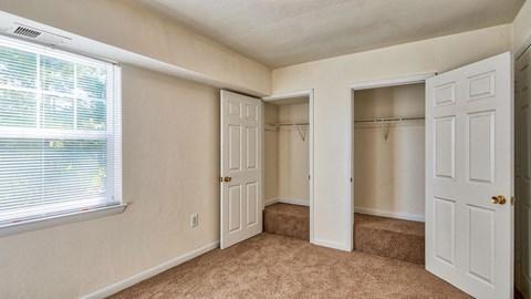 Closets at Barrington Apartments in Manassas, VA
