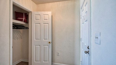 Barrington Apartments Closet