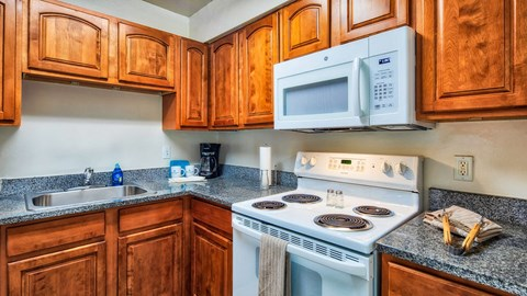 Barrington Apartments Kitchen