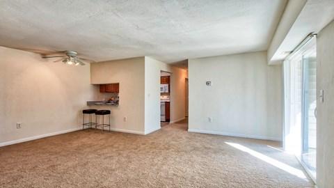Living Area at Barrington Apartments
