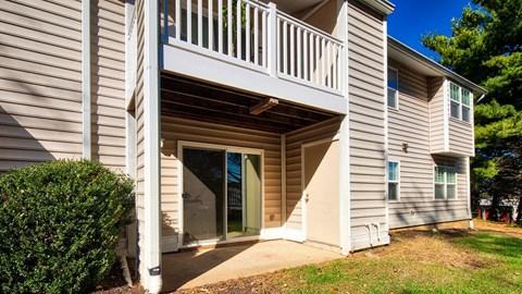 Exterior Barrington Apartments in Manassas, VA Porch
