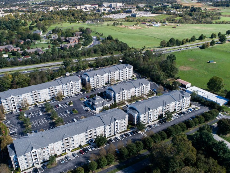 Smiths Landing Apartments Aerial