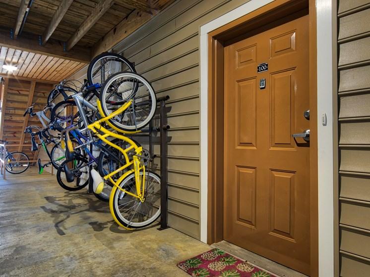 Bike Rack at Smiths Landing Apartments